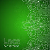 Background with lace — Stock Vector