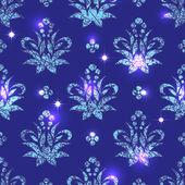 Magic oriental seamless pattern — Stock Vector