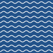 Marine style seamless pattern — Stock Vector