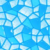 Texture of blue ice cracked — Stock Vector
