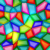 Kaleidoscope Seamless background — Stock Vector