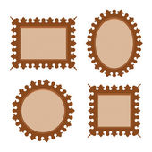 Ornamental frames — Stock Vector