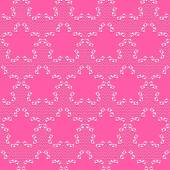 Floral  pattern with lace mesh — Vector de stock
