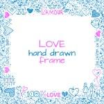 Love frame — Stock Vector #61184349