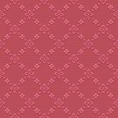 Red  classic seamless pattern — Stock Vector