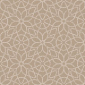 Beige   lace floral pattern — Stock Vector