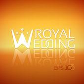Emblem or logo for wedding studios — Stock Vector