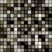 Bright shiny seamless mirror mosaic — Vettoriale Stock