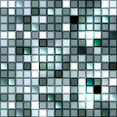 Bright shiny seamless mirror mosaic — Stock Vector