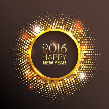 Happy New Year sign background