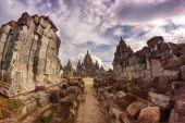 Prambanan Temple Ruins — Stock Photo