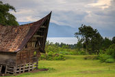 Traditional Batak house in Northern Sumatra — Stockfoto