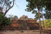 One of ancient temples in sacred city Angkor — Stock Photo