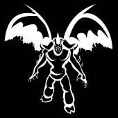 Demon — Stockvector