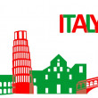 Italy architecture — Stock Vector #60460451