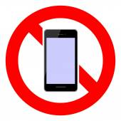 No smartphone — Stock Vector