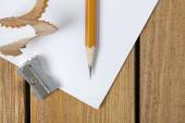 Pen and pencil sharpeners — Stock Photo