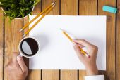 Work on the table — Stock Photo