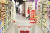 Carrinho de compras — Fotografia Stock