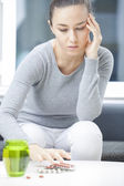 Depressed woman — Stock Photo