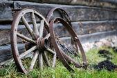 Wagon wheel — Stock Photo