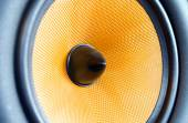 Speaker Close Up — Stock Photo