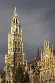 Town Hall - Munich — Fotografia Stock