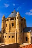 Abbey of Dormition in Old City of Jerusalem — Stock fotografie