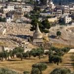 Absalom tomb, Jerusalem — Stock Photo #70190437