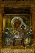 Icon of the Mother of God, Tomb of the Virgin Mary, Jerusalem — Stock Photo