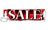 Sale background — ストック写真
