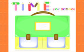 Time for school — Stock Vector