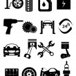 Auto Repairs Icons — Vector de stock  #56771329