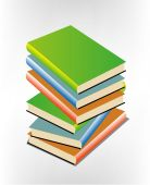Book Pile — Stock Vector