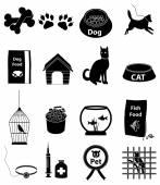 Zestaw ikon domowych — Wektor stockowy