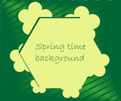 Spring backgrounds with leaves — Stock Vector