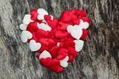 Valentinky den srdce — Stock fotografie