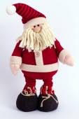 Funny  Christmas Santa Claus — Stock Photo