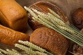 Delicious fresh bread — Stockfoto