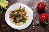 Healthy salad, healthy food. — Stock Photo