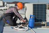 Air Conditioning Repair — Stock Photo