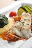 BBQ Fillet of Fish — Fotografia Stock