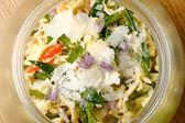 Pasta salad with tuna — Stock Photo