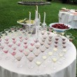 Catering, Wedding reception — Stock Photo #57240431