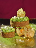 Tasty Gourmet cake — Foto Stock