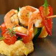 Spicy chili prawn skewers — Stock Photo #58354563