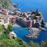 View over the Cinque Terre village — Stock Photo #58355227