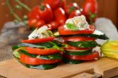 Italian salad, made of vegetables — Fotografia Stock
