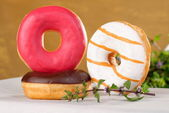 Assorted donuts — Stock Photo