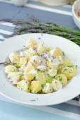 Potato salad with mayonnaise — Fotografia Stock